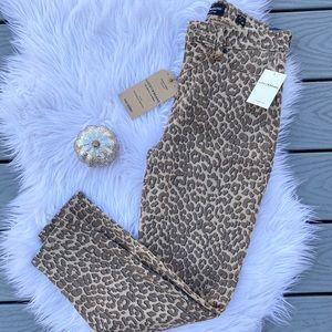 Lucky Brand cheetah pants